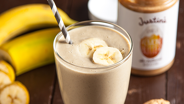 Peanut butter in smoothies