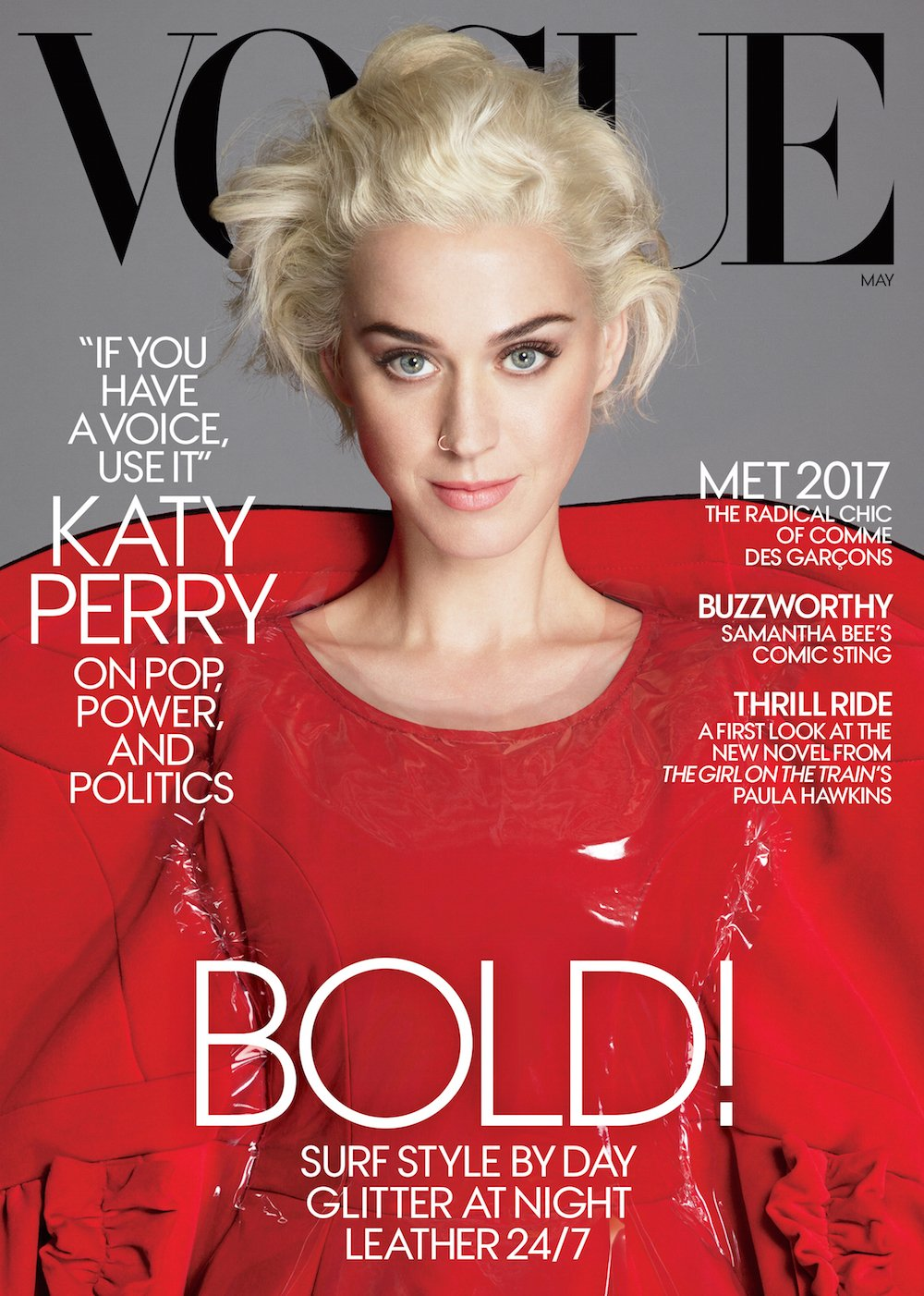 <b>MAY U.S. VOGUE: KATY...</b>
