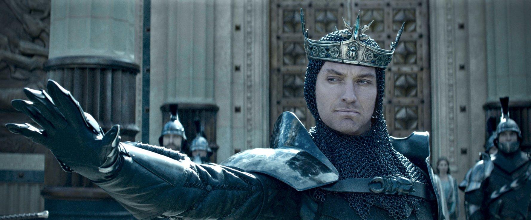 Jude Law in King Arthur: Legend of the Sword