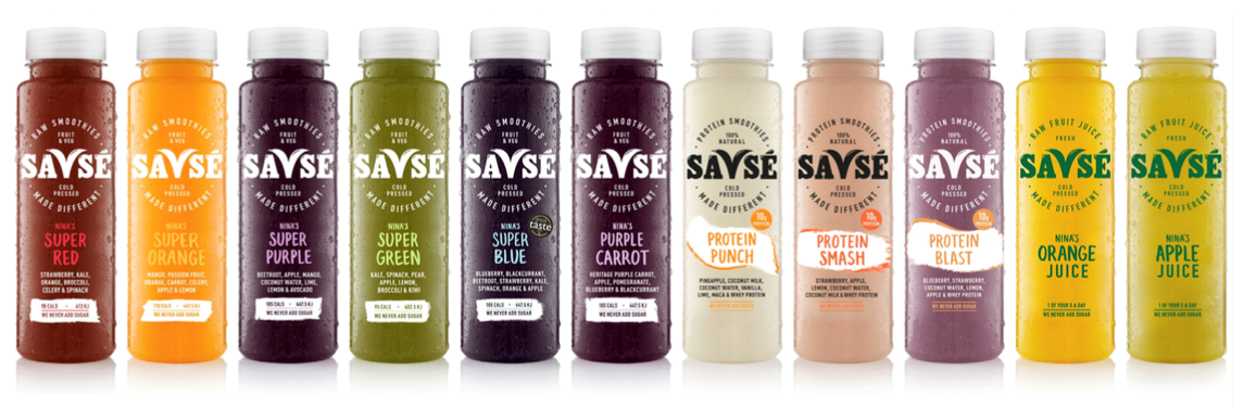 <b>SAVSE SMOOTHIES...</b>