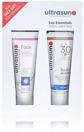 Ultrasun travel kit (£14.50)