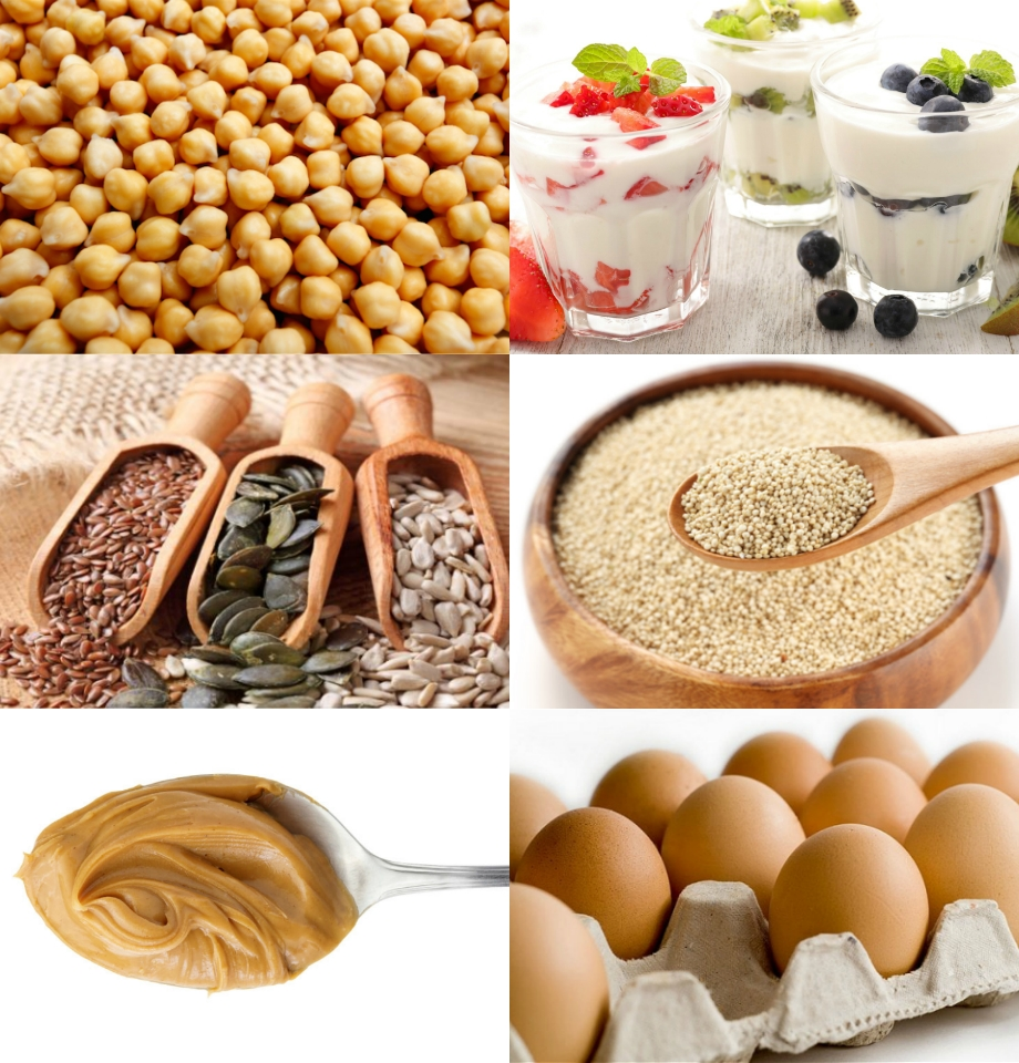 <b>PROTEIN SOURCES FOR ...</b>