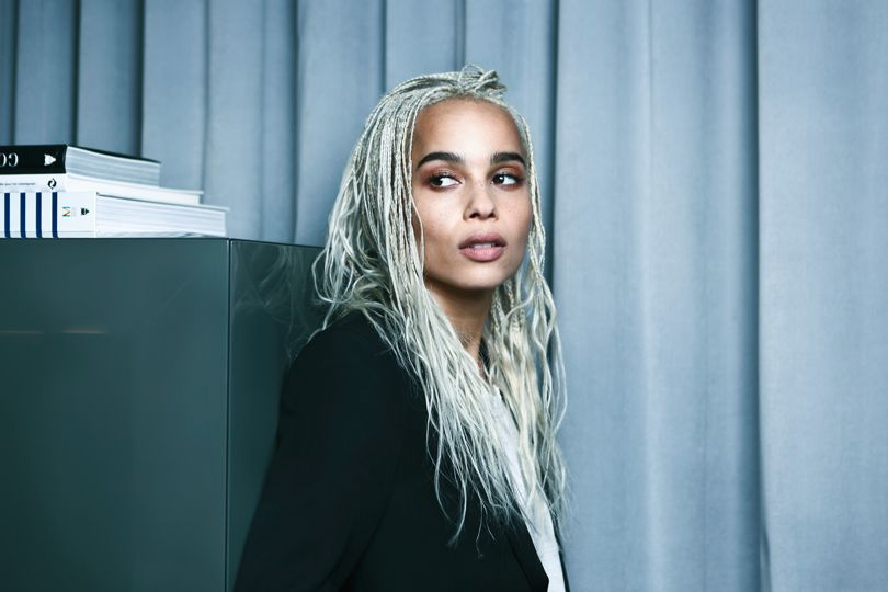 <b>ZOË KRAVITZ NEW YSL...</b>