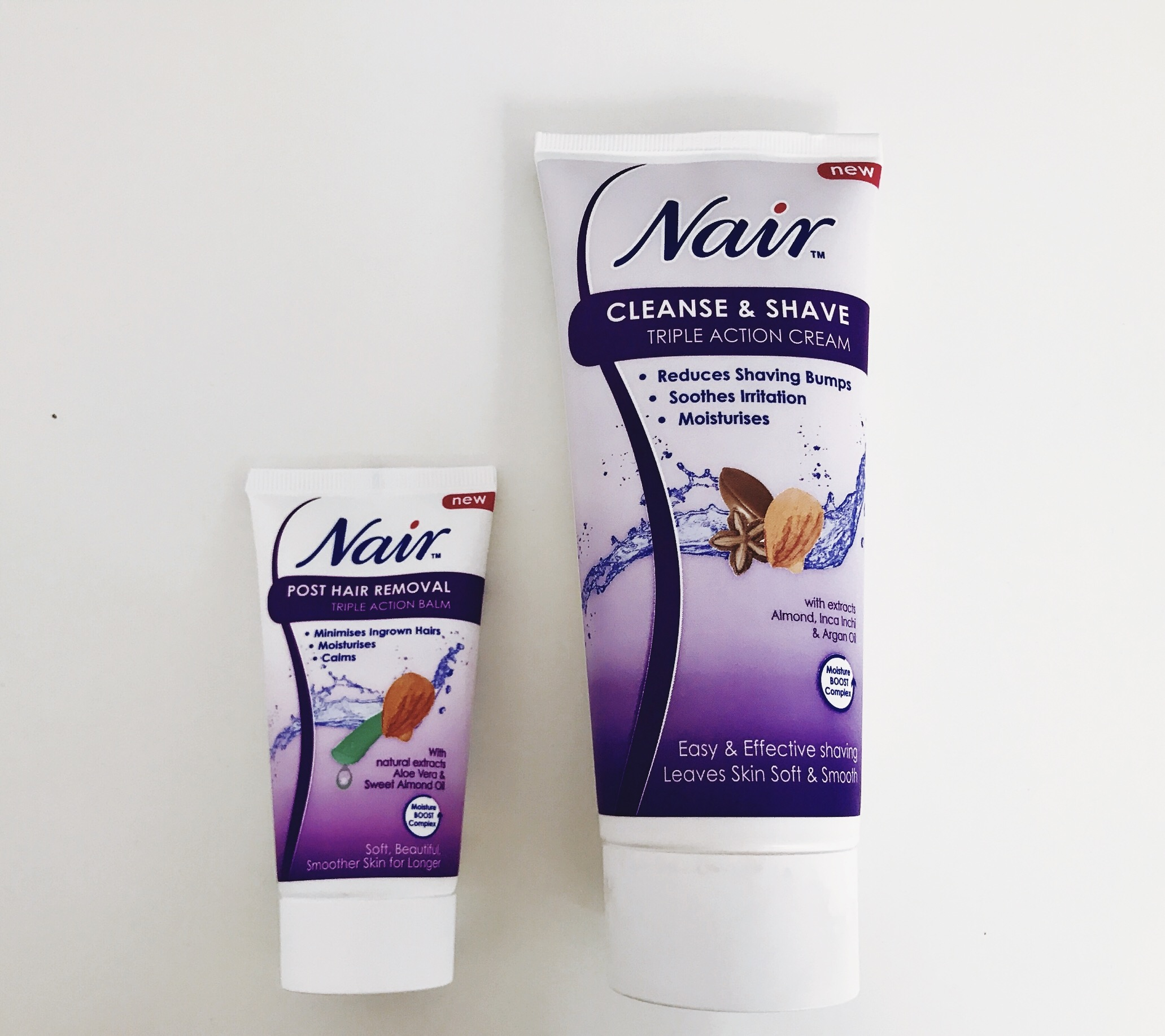 <b>NAIR CLEANSE AND SHA...</b>