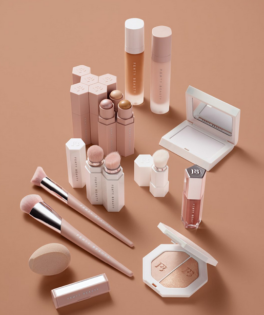 <b>FENTY BEAUTY OUT NOW...</b>