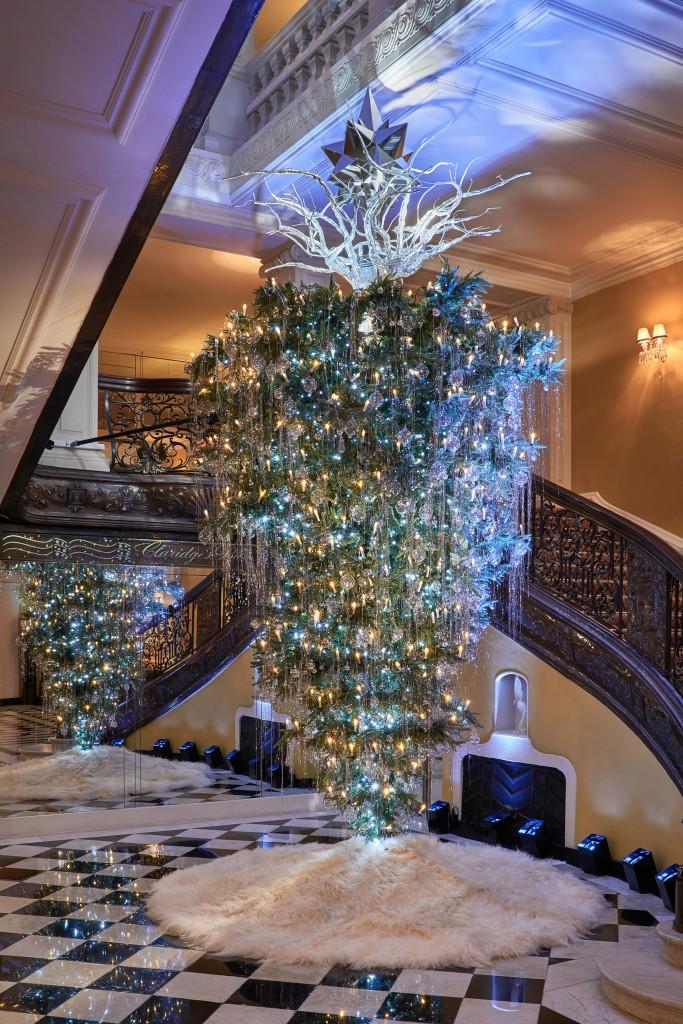 Claridge's Christmas Tree 2017 by Karl Lagerfeld