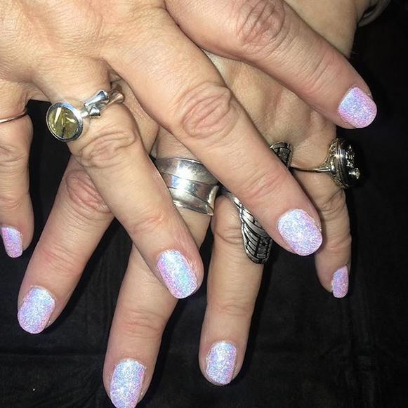Chrissy Iley nails by John Frieda