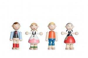 Artek Toto Wooden Dolls. Photo by Artek.