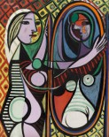 Pablo Picasso, Girl Before A Mirror, 1932, The Museum of Modern Art, New York. Gift of Mrs. Simon Guggenheim. 1937 © Succession Picasso/DACS London, 2017