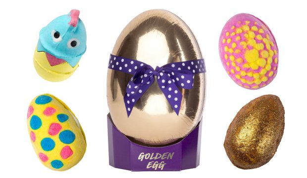 2018 easter treats beauty and the dirt lush golden egg gift set 2995 negle Image collections