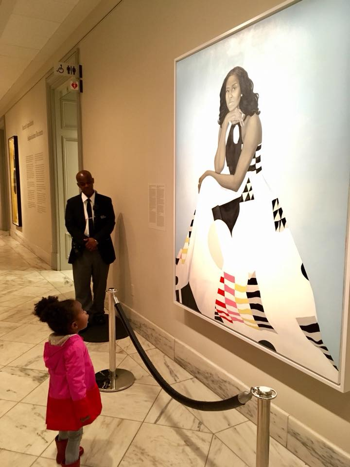 <b>MICHELLE OBAMA MEETS...</b>