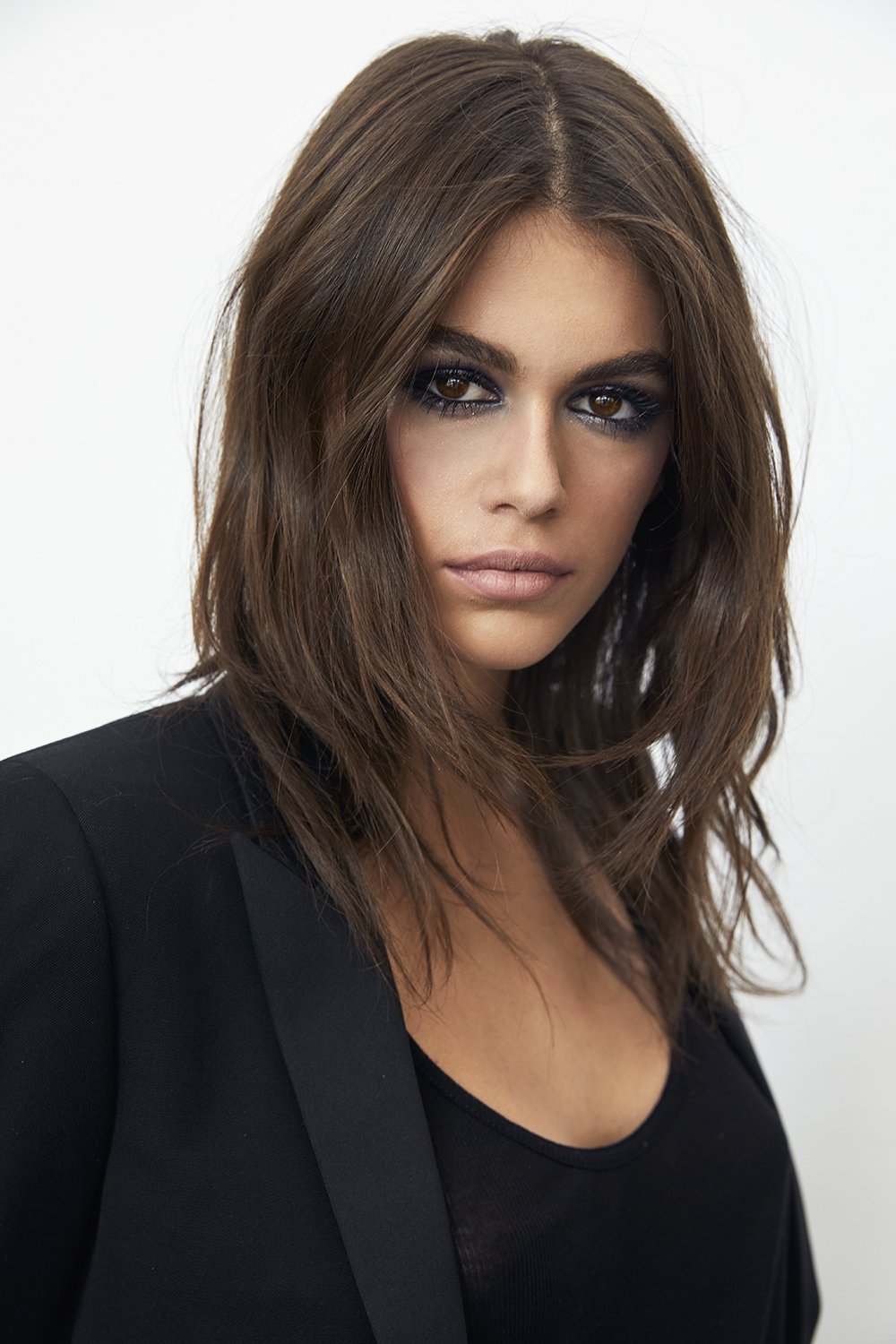 <b>Kaia Gerber for YSL ...</b>