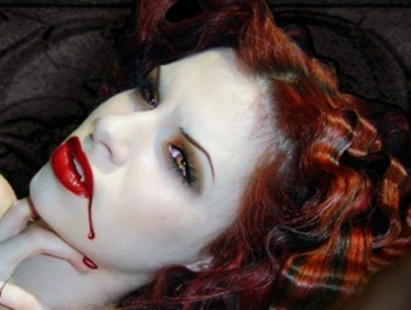 Vampire Make Up for Halloween