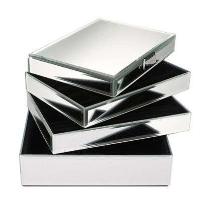 Perfect Stackers Glass Jewellery Boxes   Beauty And The Dirt RX16