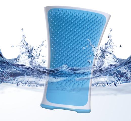 Aqua Splash hairbrush from Tangle Teezer