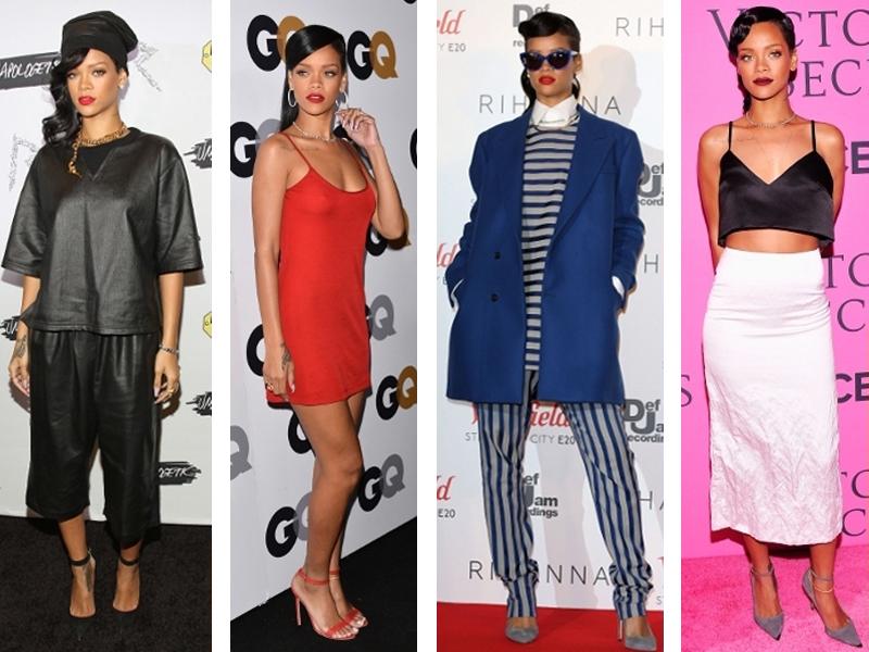 Rihanna's Recent Style