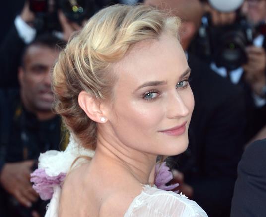 Diane Kruger's flawless red-carpet face