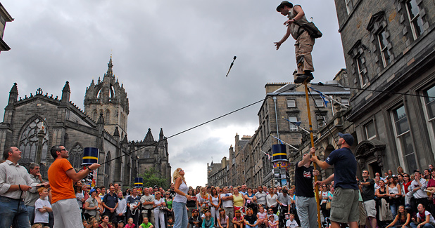 The Edinburgh Fringe Festival