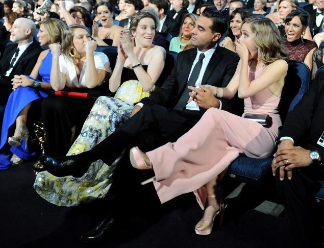 Rose Byrne and Bobby Cannavale, Emmys 2013