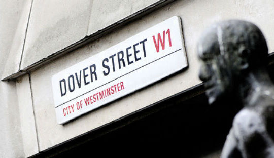 Wolf and Badger Dover-Street sign-1