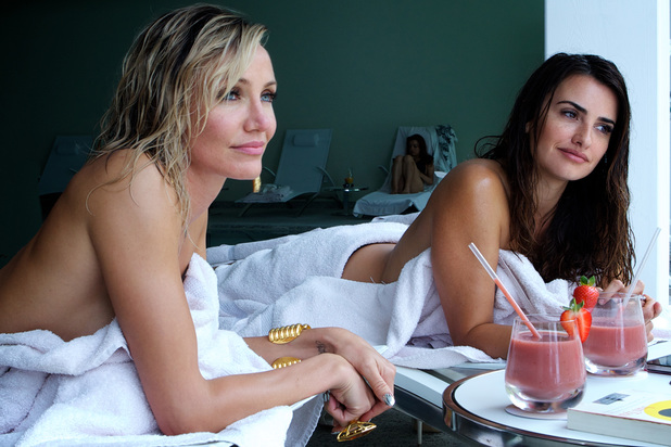 Cameron Diaz and Penelope Cruz in The Counsellor.