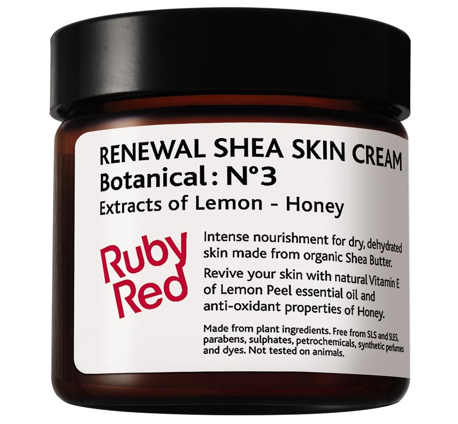 Ruby Red Renewal Shea Skin Cream