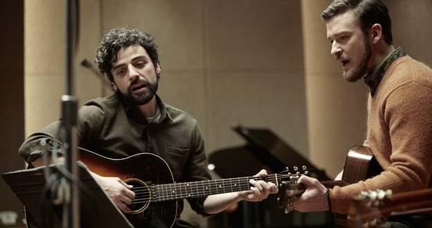 Oscar Isaac and Justin Timberlake in Inside Llewyn Davis.