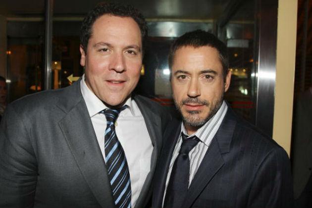 Jon Favreau & Robert-Downey Jr