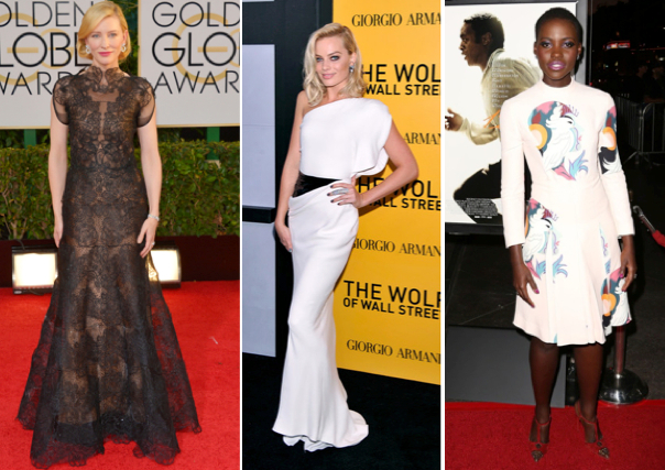 Cate Blanchett, Margot Robbie and Lupita Nyong'o