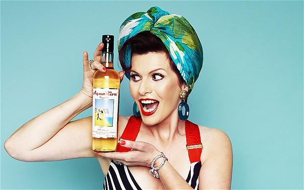Cleo Rocos and AquaRiva Tequila