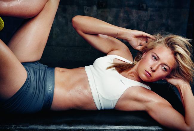 Maria Sharapova for Nike