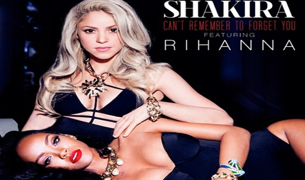 Shakira and Rihanna in 'Remember To Forget You'