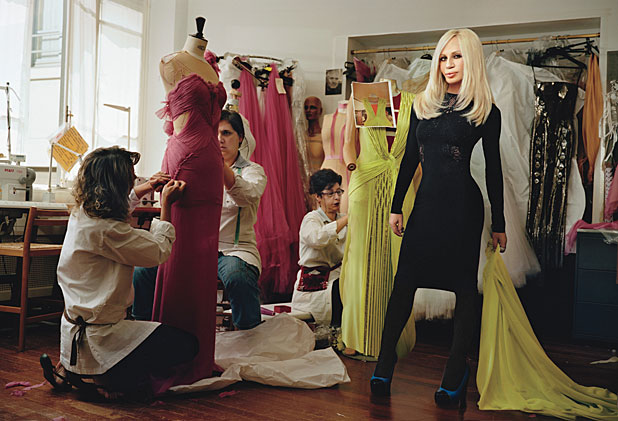 Donatella Versace, designer