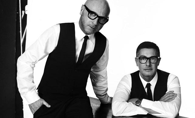 Domenico Dolce and Stefano Gabbana, designers