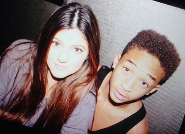 Kylie Jenner and Jaden Smith.