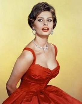 Sophia Loren, actress/model