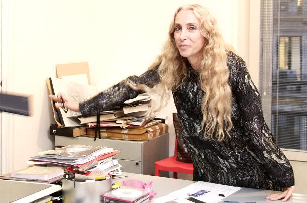 Franca Sozzoni, editor-in-chief of Vogue Italia