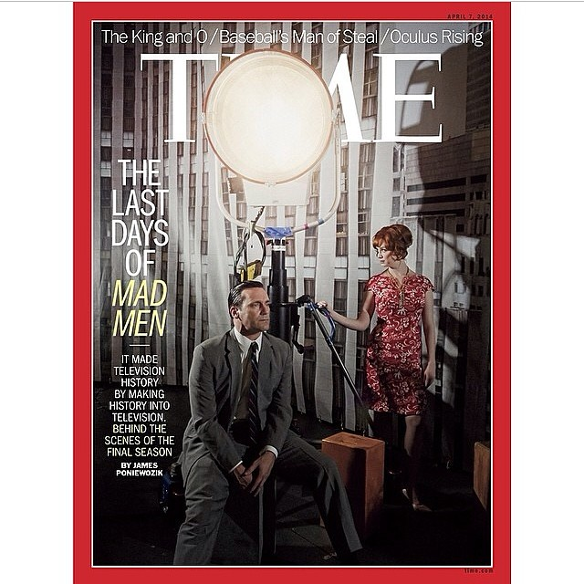 Mad Men on the cover of TIME magazine.