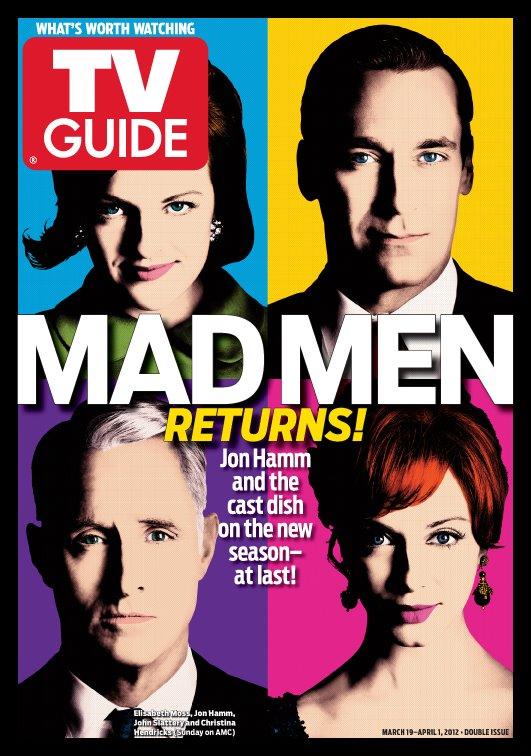 Mad Men cover on TV Guide.