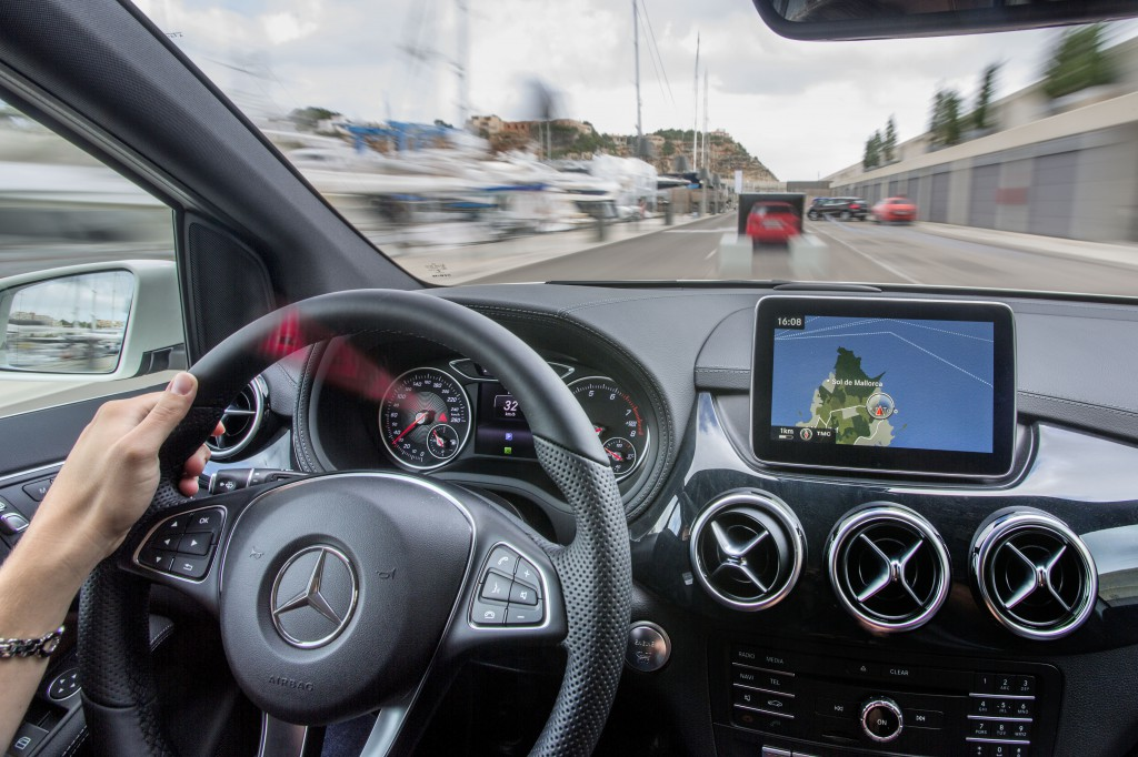 Safety First For The New Mercedes B-Class.