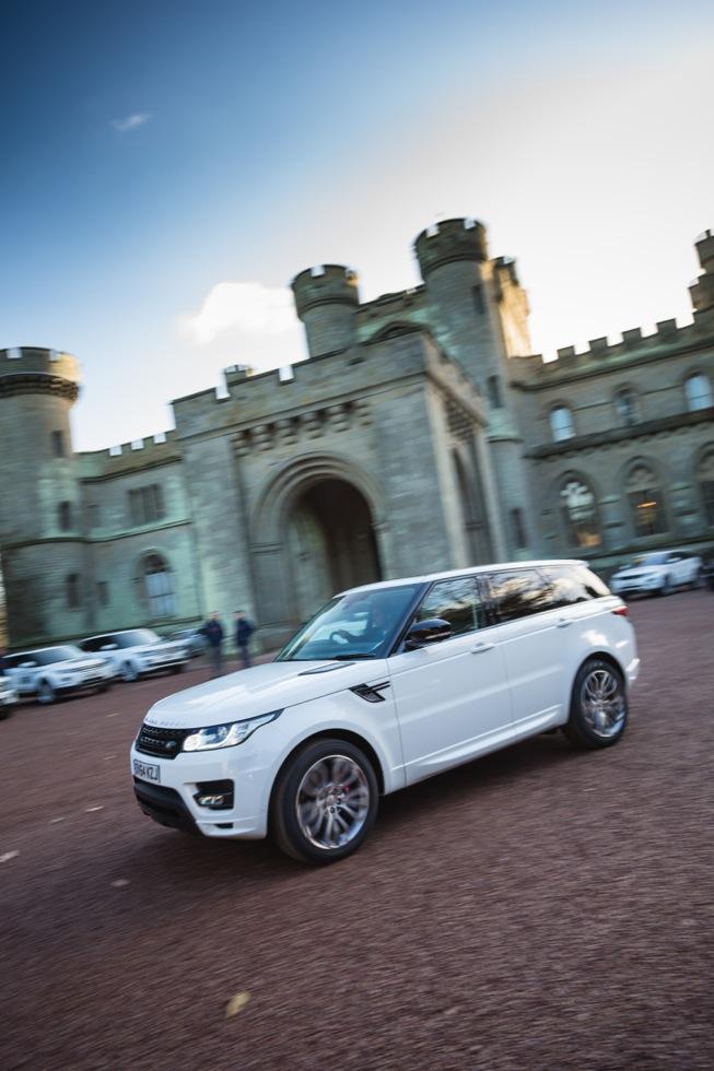 Jaguar Land Rover Eastnor Castle.