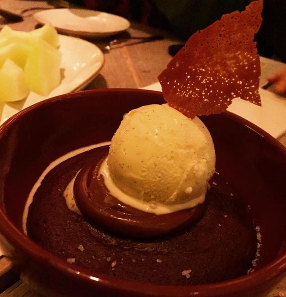 Salted Chocolate Pudding