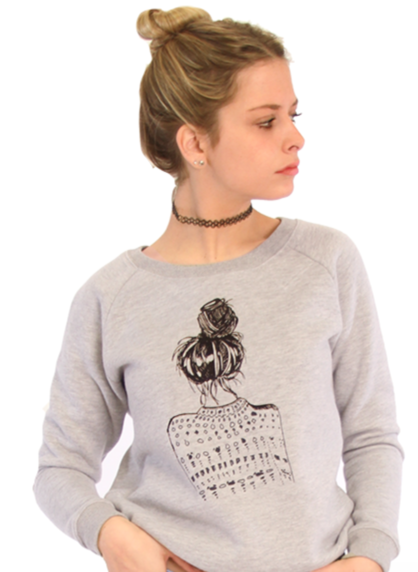 Over It Girl Sweater, $88