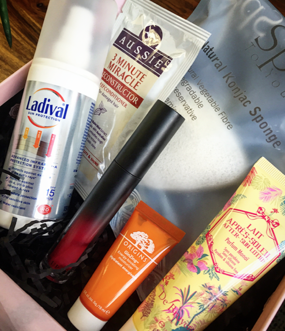 Glossy Box's June offering