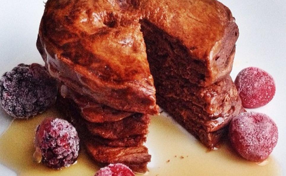 Van Dijk Chocolate Oat Pancakes
