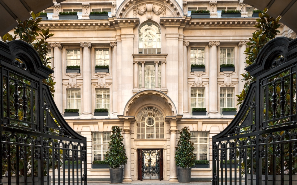 Courtyard at Rosewood London