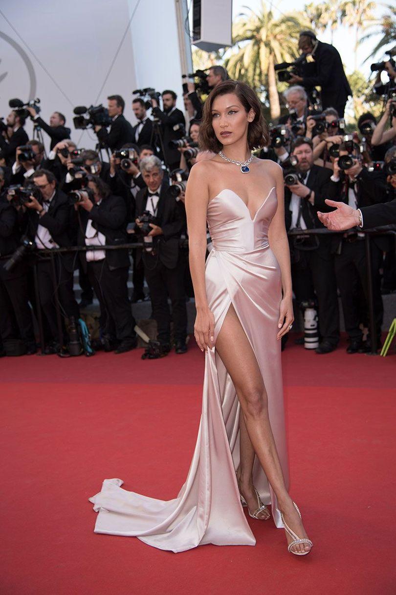 Bella Hadid at Cannes 2017