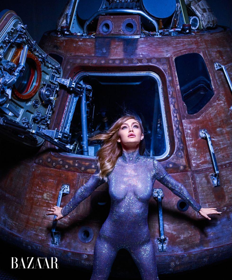 Gigi Hadid in Harper's Bazaar