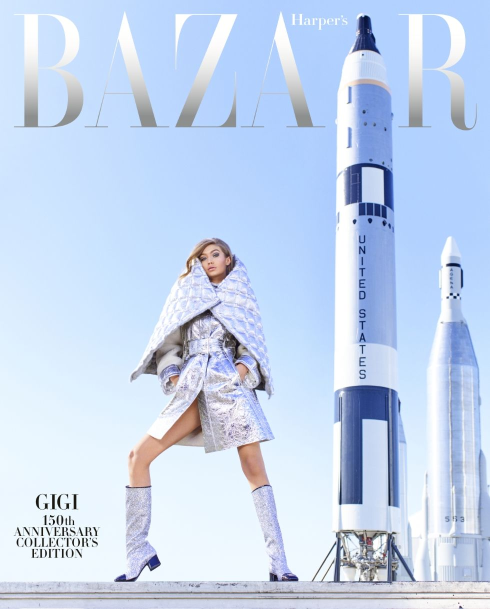 Gigi Hadid on Harpers Bazaar