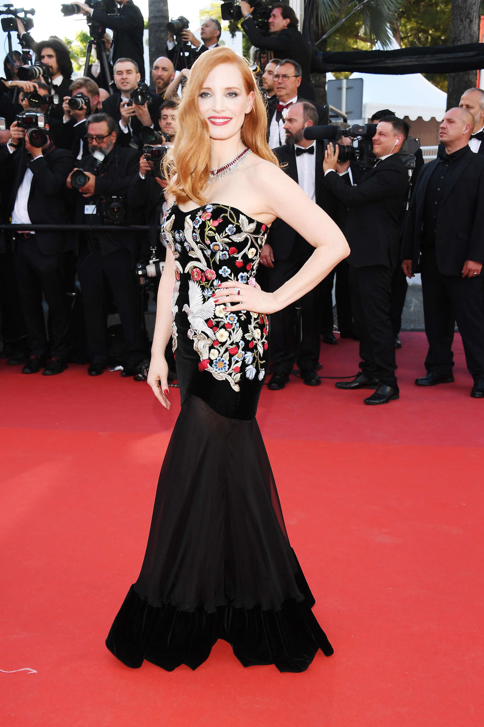 Jessica Chastain at Cannes 2017